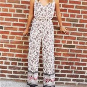 Divided H&M Paisley Jumpsuit